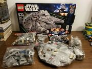 Lego Star Wars Millennium Falcon 7965 Complete With Box And Manual