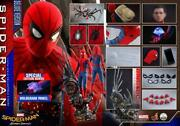 Hot Toys Qs015b Spiderman Deluxe Edition With Bonus