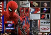 Hot Toys 1/4 Spiderman Deluxe Edition With Bonus Accessories