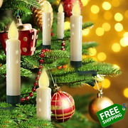 Hoolees' Led Clip-on Christmas Tree Candle Lights, Candle Christmas Tree, Batter