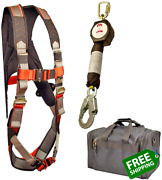 Madaco Roof Construction Fall Protection Full Body Industrial Safety Harness Int