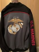 Us Marines Full Zip Jacket. Us Honor Infantry. New-no Tags. No Flaws. Size Xl