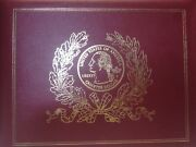 50 State Quarters Proofs In U.s. Mint Red Album Please Look