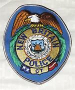 New Britain Connecticut Police Patch