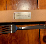 Longaberger Woven Traditions Flatware Serving/meat Fork. New