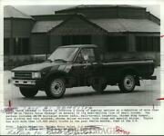 1982 Press Photo Toyota Offers Extra Value Package Options On Pick-up Trucks