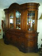 English Display Cabnet Antique
