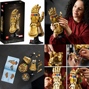 Lego Marvel Infinity Gauntlet 76191 Collectible Building Kit Thanos Right...