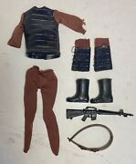 Vtg 70s Mego Planet Of The Apes Parts Lizard Skin Soldier Outfit Original