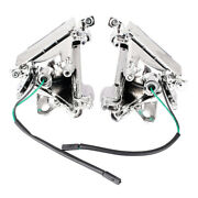 Clear Lens Front Turn Signals Cover Shell For Kawasaki Ninja Zx10r 2004-2005
