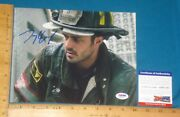 Psa Dna Certified Authentic Taylor Kinney Signed/autograph 8x10 Color Photo 1