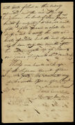 Andrew Jackson - Manuscript Letter Signed 11/17/1800 With Co-signers