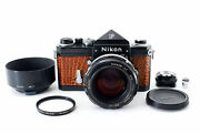 ⭐️ Exc+4⭐️nikon F Eyelevel Black W/nikkor-s.c 55mm F/1.2 Lens And More From Japan