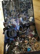 Huge Dealers Lot Antique To Deco To Vintage Items And 500 Grams Sterling Silver