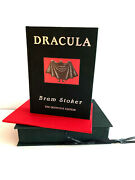 Signed Dracula Definitive First Edition Book Bram Stoker And Gorey 1996 As New
