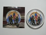 2001 1 American Silver Eagle - 9/11 America Unites / Remembering Our Heroes