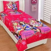 Microfiber Comfort Kids Single Bedsheet With Pillow Cover Printed Bed Sheet