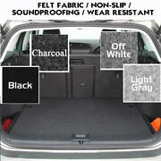 Car Carpet Replacement Underfelt Upholstery Auto Floor Trunk 78wide-by The Feet