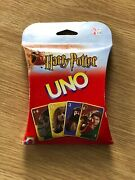 Harry Potter Uno Card Game New Factory Sealed Oop 2002 Mattel