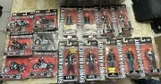 Sons Of Anarchy Motor Cycles And Action Figure Set Harley Davidson