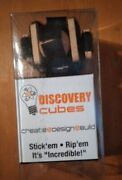 Zorbitz Discovery Cubes Fidget And Building Toy - Wood/hook And Loop