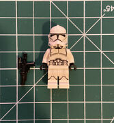 Lego Star Wars Minifigure Lot Clone Trooper Phase 2 - 75028 Turbo Tank - Decaled