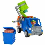 Blippi Recycling Truck - Includes Character Toy Figure Working Lever 2 Trash ...