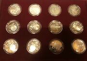 Marshall Islands 1994wonders Of The Solar System, 12 Coins 50 Dollars In Box