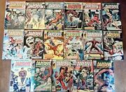 Lot Of 17 Daredevil Marvel Comics 111-152 Bronze Age Fn-fn+ Free Shipping