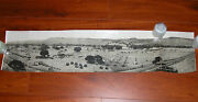 Vtg 1912 Wwi Panoramic Military Photograph Camp Forbes El Torro Ranch Red Army