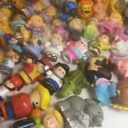 Fisher Price Little People Lot 60+ Pieces - People Animals Princess Carriage