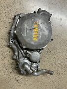 04-13 Yamaha Yfz450 Right Engine Case Crankcase Inner Clutch Cover Housing