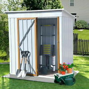Outdoor Garden Storage Shed Tool House Backyard Utility Shed With Door 5ft X3ft