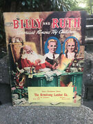 1950 Billy And Ruth Christmas Toy Catalog....lionel Trains Hubley Erector Sets