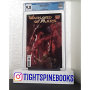 Warlord Of Mars 17 2012 Cgc 9.8 White Lucio Parrillo Variant Rare 1 Of 2 Graded