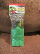 The Incredible Hulk Hand Puppet 1978 Imperial Mint In Pacage Unpunched - Marvel