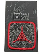 Tad Gear Topo Logo Patch Red New