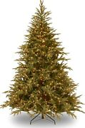 Feel Realand039 Pre-lit Artificial Christmas Tree | Includes Pre-strung Multi-color