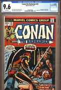 Conan The Barbarian 23 Cgc 9.6 1st Red Sonja Marvel Comics 1973 White Pages