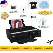 A4 Dtf Printer Direct Transfer Film A4 For Epson L805 A4 Heat Press For Tshirt