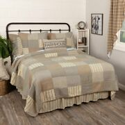 Country Primitive Farmhouse Sawyer Mill Charcoal Quilt Collection