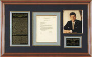John F. Kennedy - Typed Letter Signed 11/17/1953