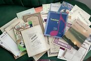 Huge Lot Vintage Piano Sheet Music 1800s-1900s 36 Classical Books And Pieces
