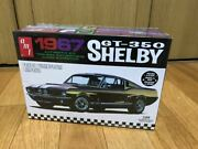 Amt 1967 Shelby Gt350 125 Assembly Kit Ford Mustang Shelby Muscle Car Pony Car
