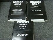 2005 Chrysler Crossfire Coupe Convertible Service Repair Manual Srt-6 Limited