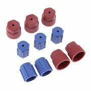 5pcs Red Ac Caps With 5pcs Blue Ac Caps Air Conditioning System Service Parts