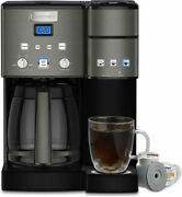Cuisinart - Coffee Center 12-cup Coffee Maker And Single Serve Brewer - Black...