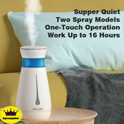 Ultrasonic Cool Mist Air Diffuser Humidifier Led Night Light Home Bedroom Office