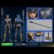 In-famous If002 1/6 Scale The Shadow Void Collectible Action Figure Model Toys
