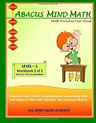 Abacus Mind Math Level 1 Workbook 2 Of 2 Excel At Mind Math With Soroban, A J,